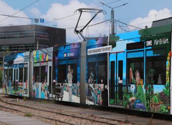 News 07/2019: Die Erfurter Comic-Bahn