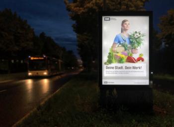 News 06/2020: Employer Branding Kampagne startet im Erfurter Stadtbild