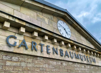 News 02/2021: Deutsches Gartenbaumuseum - Logo und Corporate Design überzeugten Jury