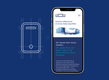 Digital Branding für das Ernst-Abbe-Sportfeld