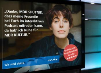 Viel. Vielfalt. Vielfaltkampagne. Imagekampagne des Mitteldeutschen Rundfunks (MDR)